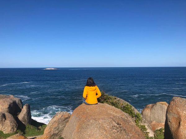 花崗岩島巨石