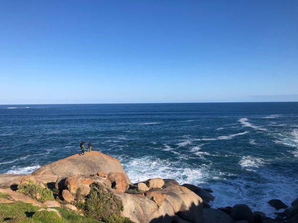 花崗岩島石頭海岸