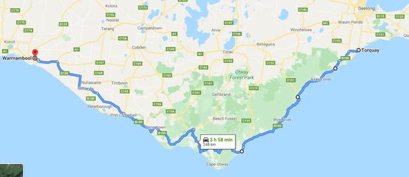 大洋路地圖