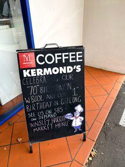 Kermond's burgers