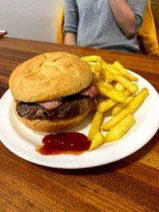 Kermond's hamburger and steak roll